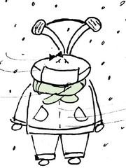 有一种冷,叫忘带胸罩……